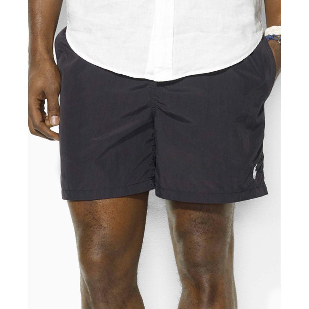 de9ad8d9 Ralph Lauren Hawaiian Boxer Swim Shorts in Black for Men - Lyst