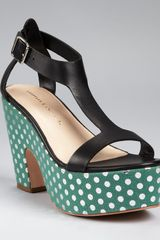 Loeffler Randall Sandals Chloe Cutout Wedge - Lyst