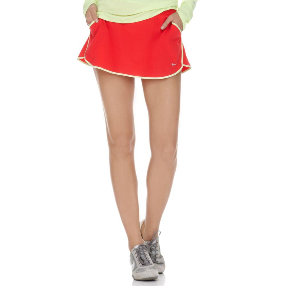 nike running skirt in lyst
