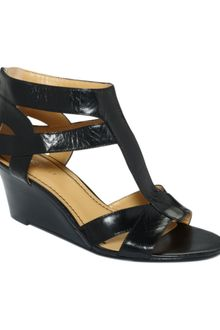 Nine West Pipin Hot Wedge Sandals - Lyst