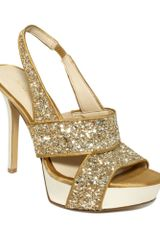 Nine West Fairgame Platform Sandals - Lyst