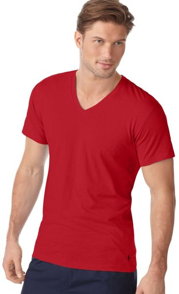 adc27d51411a Pictures of Red V Neck T Shirt For Men - #rock-cafe