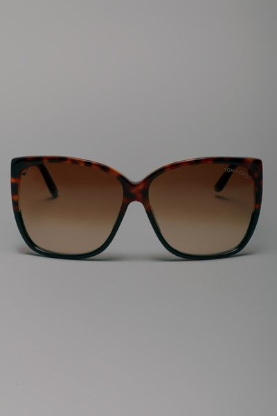 Tom Ford Ft228 Sunglasses 05f in Brown - Lyst