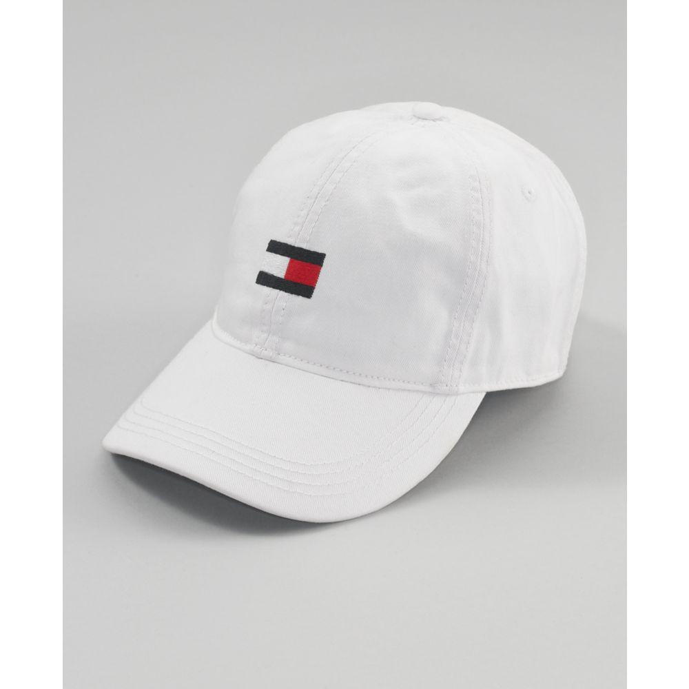 10940e9e21a Lyst - Tommy Hilfiger Flag Baseball Hat in White for Men