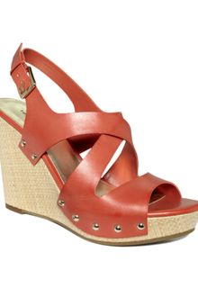 Tommy Hilfiger Morgan Wedge Sandals - Lyst