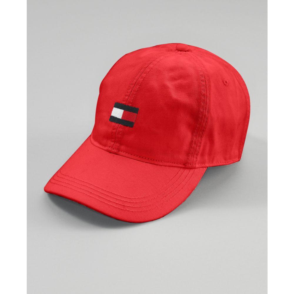 f45e976838d Lyst - Tommy Hilfiger Flag Baseball Hat in Red for Men