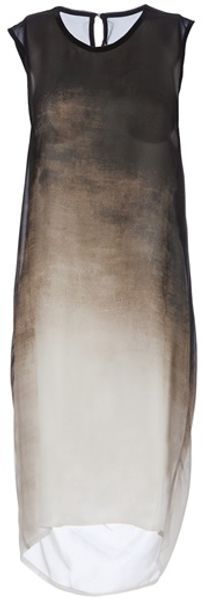 Ann Demeulemeester Maxi Dress - Lyst