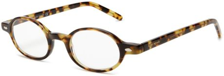 Kate Spade Kate Spade Womens Foster Bl10 Round Reading Glasses in Brown (tokyo tortoise frame/demo lens)