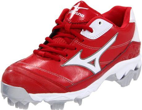 Mizuno Mizuno Womens 9spike Finch 5 Softball Cleat in Red ...
