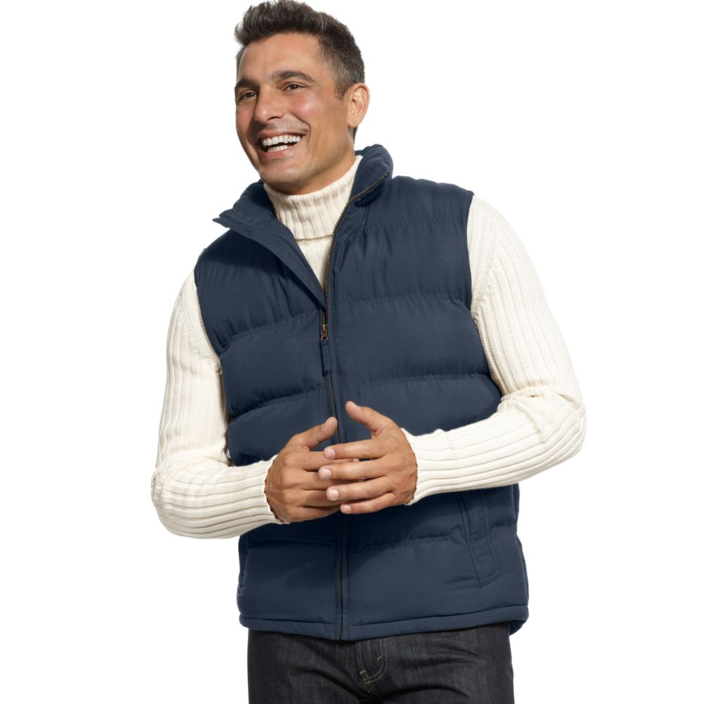 Weatherproof Puffer Vest In Blue For Men Lyst