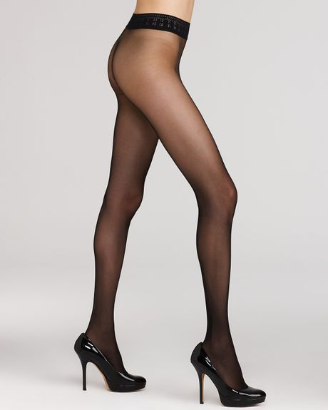 Black seamless pantyhose 15
