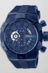 Brera 48mm Supersportivo Watch Navy - Lyst