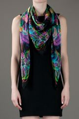 Jaguar Shoes Carnovsky Resone No1 Rgb Scarf in Multicolor (black) - Lyst