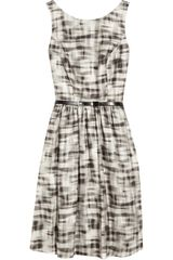 Jason Wu Brigitte Printed Jacquard Dress - Lyst