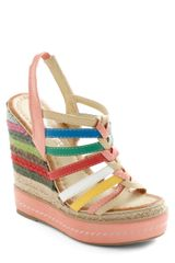 ModCloth Chalk About Cute Wedge - Lyst