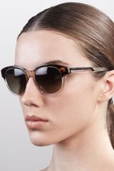 Stella McCartney Twotone Sunglasses - Lyst