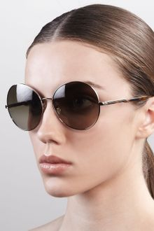 Stella Mccartney Sunglasses Round Metal Sunglasses  - Lyst