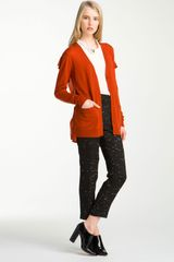 3.1 Phillip Lim Flat Back Panel Cardigan - Lyst