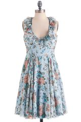 ModCloth Tea On The Terrace Dress - Lyst