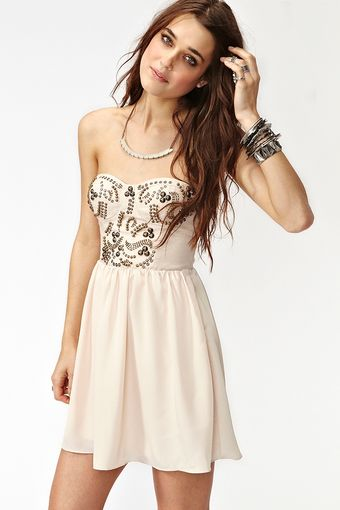Nasty Gal Sweet Studs Dress - Lyst