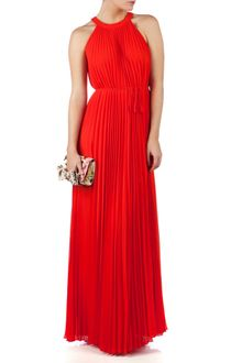 Ted Baker Haylea Pleated Maxi Dress - Lyst