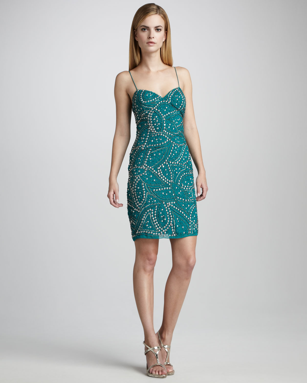 Studded Cocktail Dress