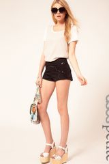 ASOS Collection Asos Petite Exclusive Cutwork Knicker Shorts - Lyst