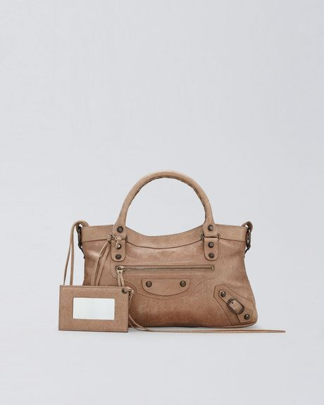 Balenciaga Classic First Tote, Seigle in Brown (seigle) - Lyst
