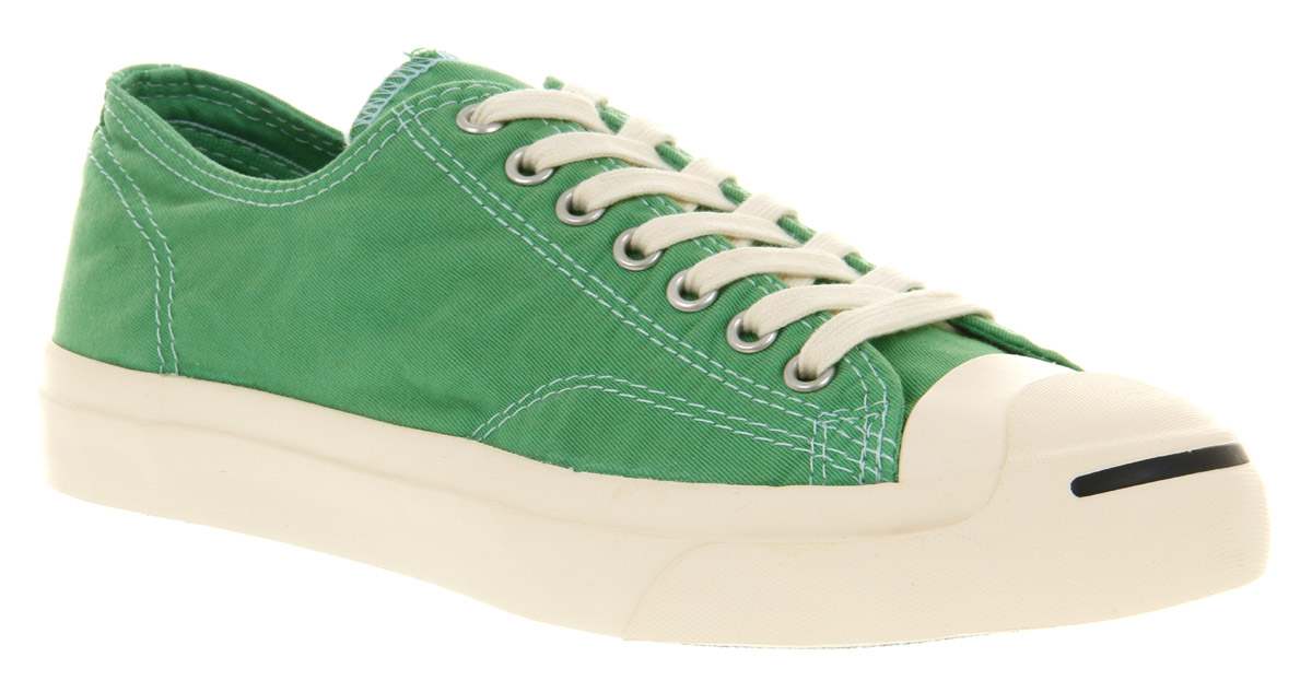 8f96ef3938d Lyst - Converse Jack Purcell Ltt Bright Green in Green for Men