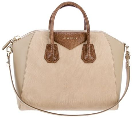 Givenchy Antigona Bag in Brown - Lyst
