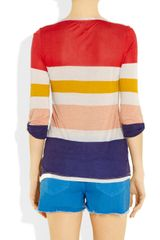 Splendid Striped Jersey Top in Multicolor (multicolored) - Lyst