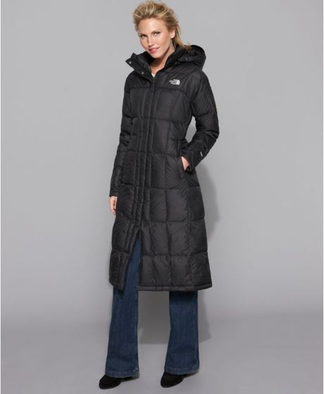 North face womens long winter coats