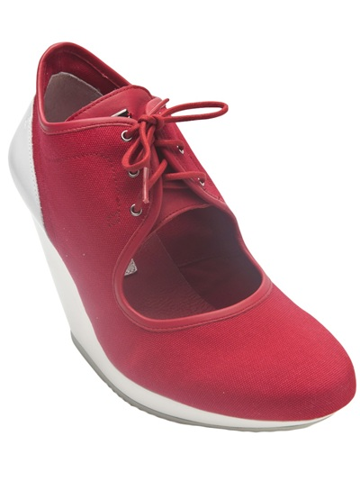 8b7bd0502df5 Mary Adidas Lyst Slvr Jane Red In Wedge 5HpHwx