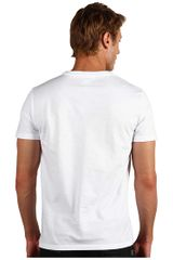 Alexander Mcqueen Raven Skull Tee in White for Men (r) - Lyst
