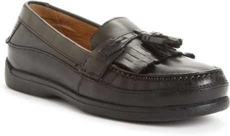 Dockers Sinclair Kiltie Tassel Loafers in Black for Men - Lyst