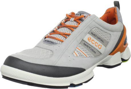 ecco biom walk 12 walking shoe in gray for silver