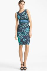 Emilio Pucci Silk Jersey Pencil Dress - Lyst