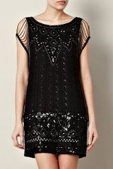 Haute Hippie Zelda Embellished Dress - Lyst