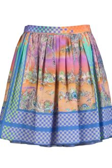 Jen Kao Pleat Skirt - Lyst