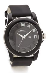 Marc By Marc Jacobs Icon Stripe Watch - Lyst