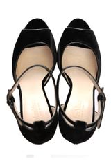 Max Mara Cadice Peeptoe Shoes