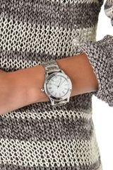 Nixon The Camden Watch in Silver - Lyst