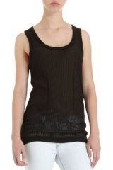 Rag & Bone Shadow Rib Tank - Lyst
