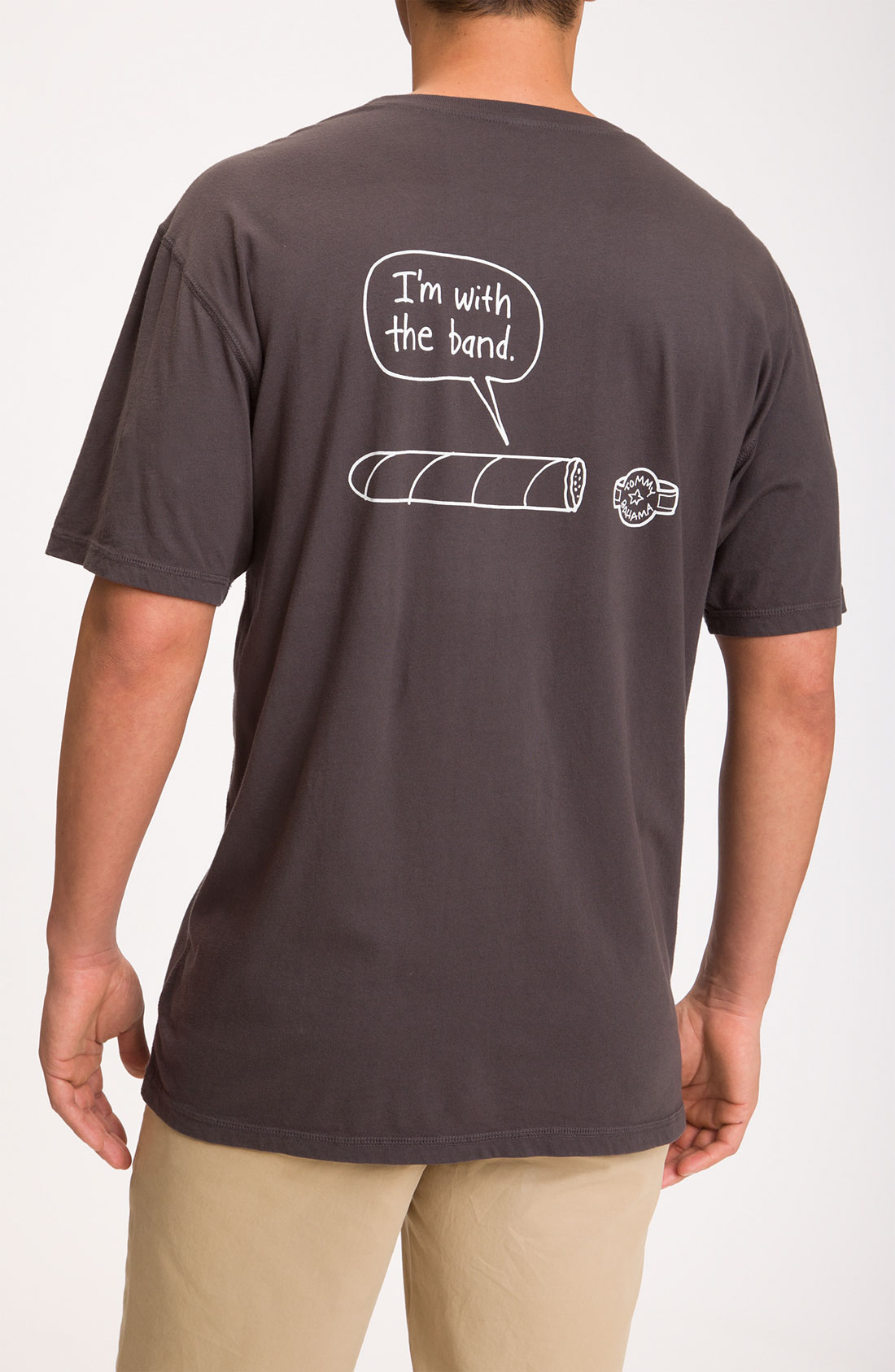 Tommy Bahama Im With The Band Tshirt In Gray For Men Ash