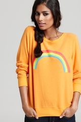 Wildfox Sweatshirt Rainbow - Lyst
