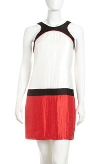 Alexia Admor Colorblock Shift Dress - Lyst