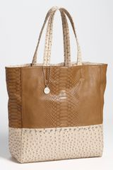 Big Buddha Embossed Tote - Lyst