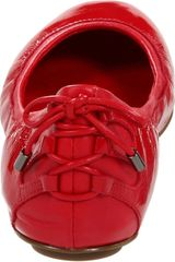 Cole Haan Air Bacara Ballet Flat in Red (tango red patent) - Lyst