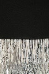 Elizabeth And James Fitzgerald Fringed Silkcrepe Skirt in Black - Lyst