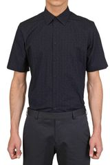 Givenchy Printed Poplin Short Sleeved Shirt - Lyst